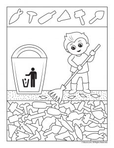 Earth Day Clean Up Hidden Pictures