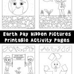 Earth Day Hidden Pictures Printables