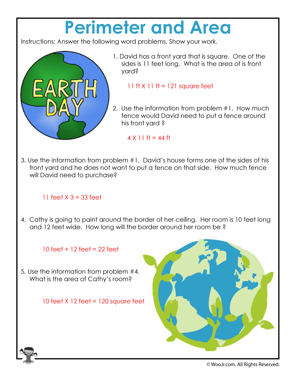 earth day word problem math worksheet answer key woo jr kids activities. Black Bedroom Furniture Sets. Home Design Ideas