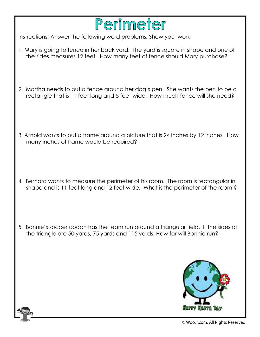 - Measuring Perimeter Worksheet Woo! Jr. Kids Activities