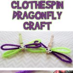 Clothespin Dragonfly Craft