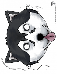 Husky Mask - Full Color