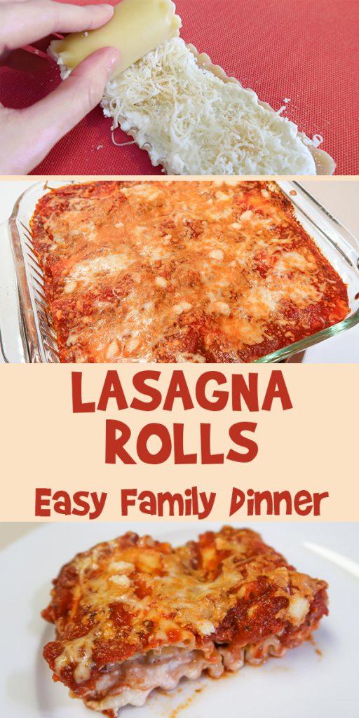 Lasagna Rolls | Easy Family Dinner