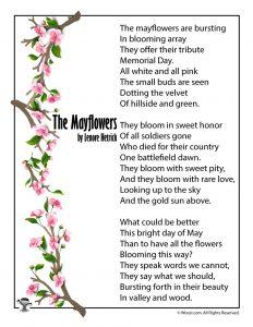 The Mayflowers Memorial Day Poem for Children