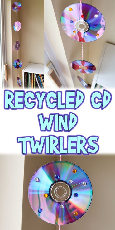 Recycled CD Wind Twirlers