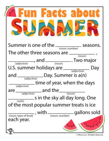 Summer Ad Libs