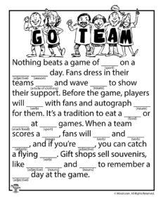Sports Team Ad Libs
