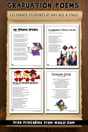 Printable Graduation Poems for All Ages