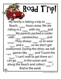 Family Road Trip Adlibs