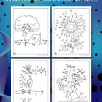 Printable Summer Dot to Dot Pages