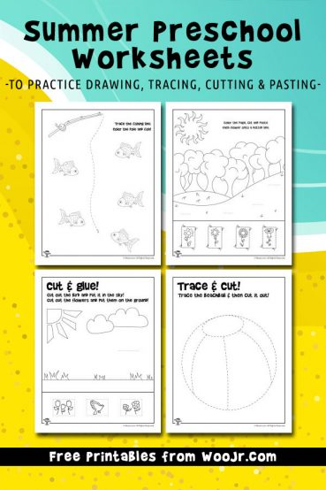 Summer Preschool Worksheets X on summer preschool worksheets
