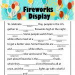 Printable 4th of July Ad Libs for Kids
