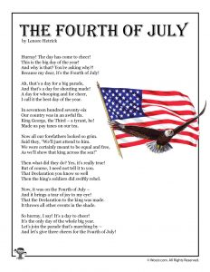 The Fourth of July Poem for Kids