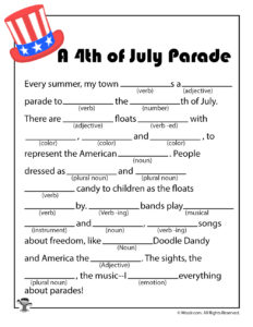 Independence Day Parade Ad Lib