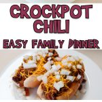 Crockpot Chili | Easy Family Dinner