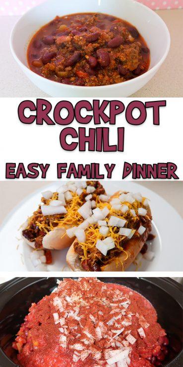 Crockpot Chili | Easy Family Dinner