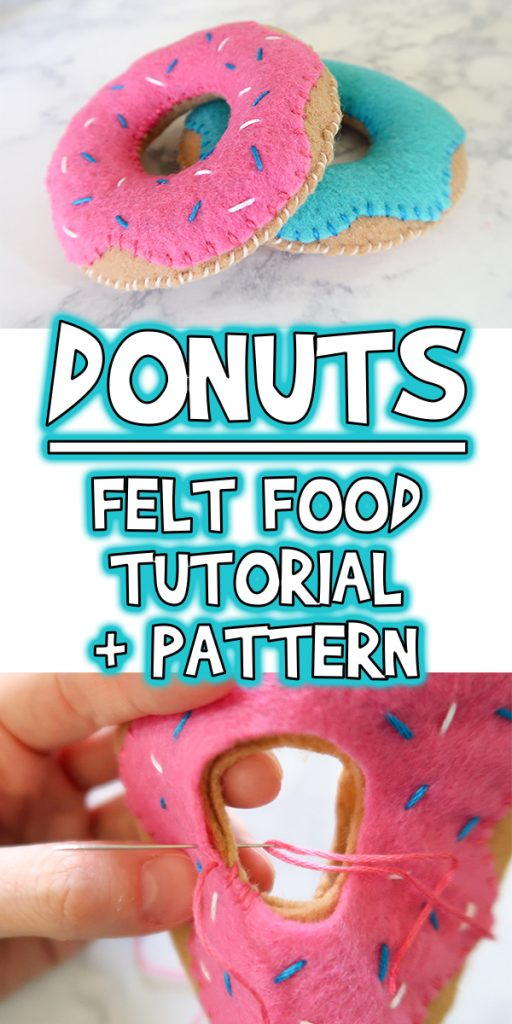 photo about Printable Sewing Patterns identify Donuts Felt Food stuff Guideline Printable Sewing Behavior Woo