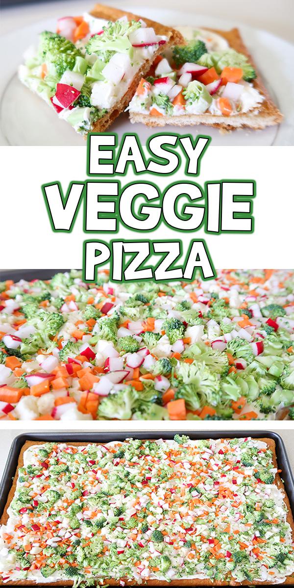 Easy Veggie Pizza Recipe Woo Jr Kids Activities