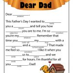 Father's Day Ad Libs