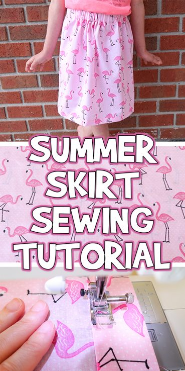 Summer Skirt Beginner Sewing Tutorial