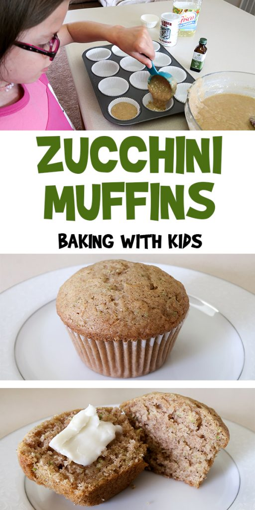 Zucchini Muffins | Baking With Kids