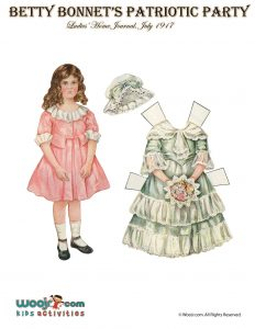 Better Bonnet Printable Paper Dolls