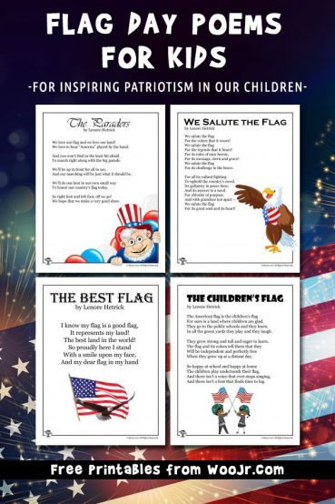 Flag Day Poems for Kids