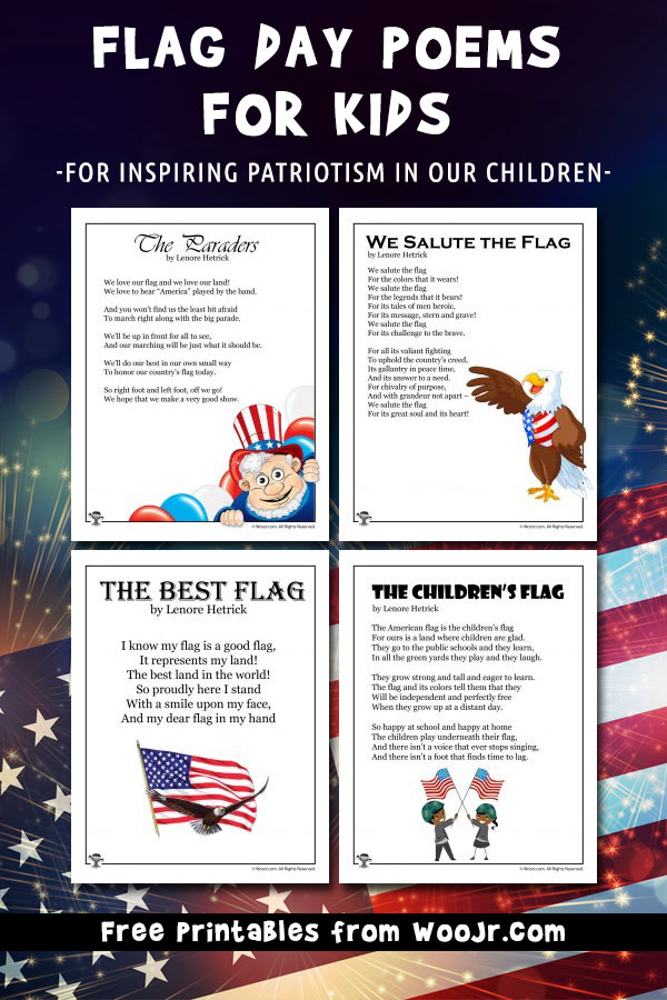 Flag Day Poems for Kids to Inspire Patriotism in Our Children