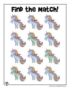 11 Unicorn Activity Pages
