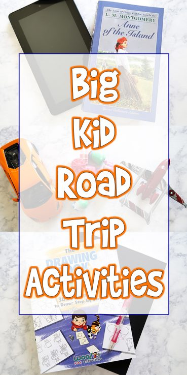Big Kid Road Trip Activities