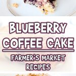 Blueberry Coffee Cake | Farmer's Market Recipes