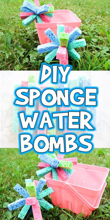 DIY Sponge Water Bombs