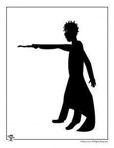 Harry Potter Shadow Puppet