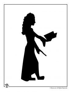 Hermione Granger Shadow Puppet