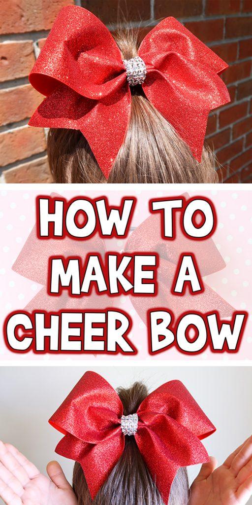 4b9e95c39b0ff How to Make a Cheer Bow