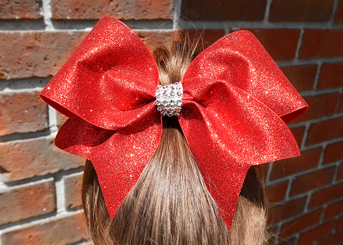Thanks for learning how to make a cheer bow with me!