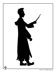 Ron Weasley Shadow Puppet