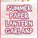 Summer Paper Lantern Garland