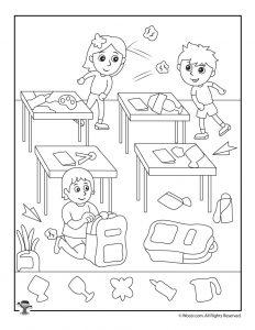 Classroom Fun Find the Item