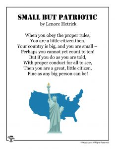 Patriotism and Election Day Poems for Kids | Woo! Jr. Kids ...