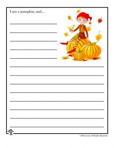 I am a pumpkin, and ...