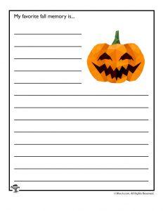 My favorite fall memory is...