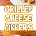 Grilled Cheese Dippers | Easy Kid Lunches