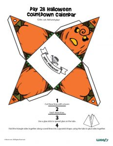 Day 28 Halloween Countdown