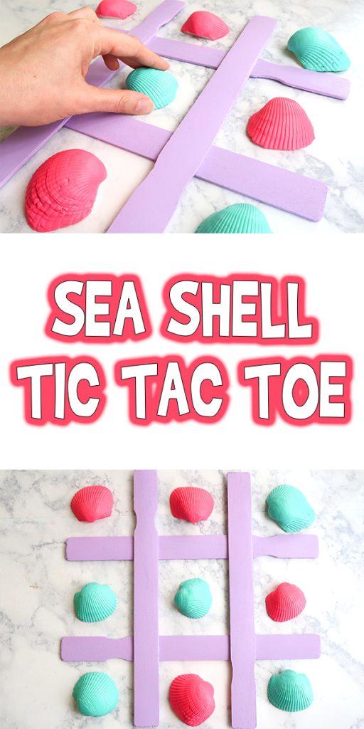 Sea Shell Tic Tac Toe