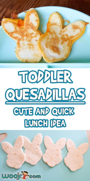 Toddler Quesadillas | Quick and Cute Lunch Idea