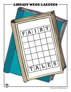 FAIRY to TALES Word Ladder