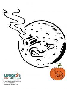 Bullet Moon Pumpkin Georges Melies