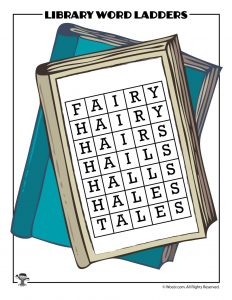 FAIRY to TALES Word Ladder ANSWER KEY