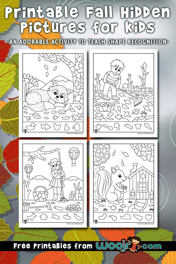 Printable Fall Hidden Pictures